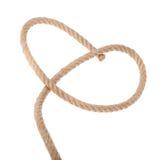 Streng en de lijn van dikke kabel. Royalty-vrije Stock Foto