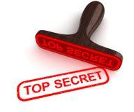 Streng geheim Stockfotografie