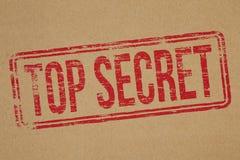 Streng geheim Lizenzfreies Stockfoto