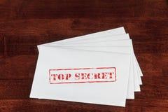 Streng geheim Stockfoto