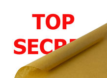 Streng geheim Stockfotos