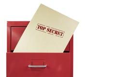 Streng geheim Dokumente Lizenzfreie Stockbilder