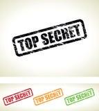 Streng geheim Hintergrund Lizenzfreie Stockbilder