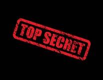 Streng geheim Hintergrund Stockfotos