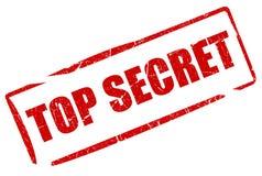 Streng geheim Stempel Lizenzfreie Stockfotos