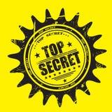 Streng geheim Stempel Lizenzfreies Stockbild