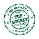 Streng geheim Stempel Stockfoto