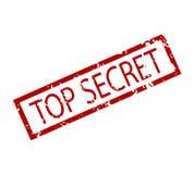 Streng geheim Stempel lokalisiert Lizenzfreies Stockfoto