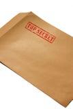 Streng geheim Umschlag B Stockbilder