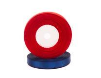 Streng van rood lint Stock Foto