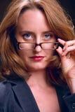 Strenge Geschäftsfrau Stockbilder