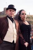 Strenge viktorianische Paare Stockfotografie