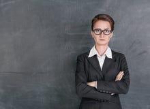 Strenger Lehrer Lizenzfreies Stockfoto