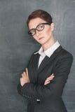 Strenger Lehrer Stockfotografie