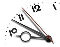 Strenger Zeitkonzepthintergrund Lizenzfreies Stockbild