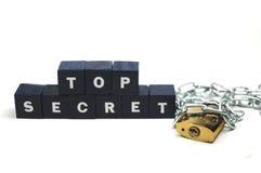 Strenges Geheimnis! lizenzfreie stockfotos