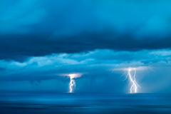 Strenges Gewitter Stockbild