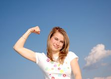 Strength Royalty Free Stock Images
