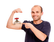 Strength gauge Stock Photography
