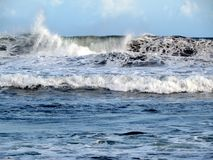 The strength of the Indian Ocean Royalty Free Stock Images