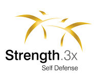 Strength Logo. Logo Design for self defense Club Royalty Free Stock Photography