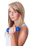 Strength training Royalty Free Stock Photos