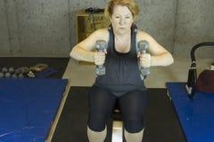 Strength training Stock Photo