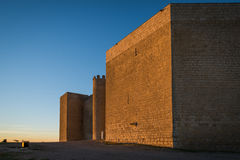 Strength Valladolid. Montealegre's castle of Fields (Valladolid Royalty Free Stock Image
