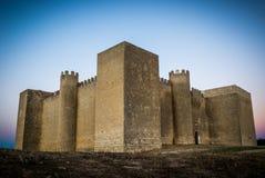 Strength Valladolid. Montealegre's castle of Fields (Valladolid Stock Photos
