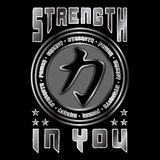 Strength in you. Quote Stock Photos