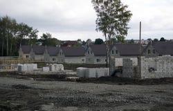 Strengthening of aerocrete walls, construction . stock images