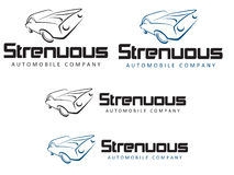 Strenous Automobile Company Stock Photos