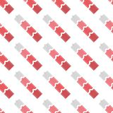 Strepen en pijlen naadloos patroon Royalty-vrije Stock Foto
