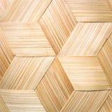 Strepen van bamboe het weven worden gemaakt die Stock Afbeeldingen