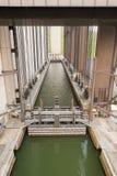 Strepy-Thieu łódkowaty dźwignięcie Fotografia Stock