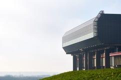 Strepy-Thieu fartygelevator, Belgien Fotografering för Bildbyråer