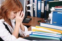 stres Obraz Stock