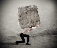 Stres biznesmen Obraz Stock