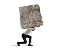 Stres biznesmen Fotografia Stock