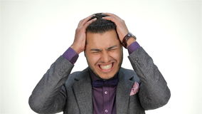 stres biznesmena zdjęcie wideo