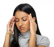 Stres migrena Zdjęcie Royalty Free