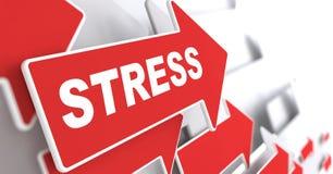 Stres. Ogólnospołeczny pojęcie. Obrazy Stock