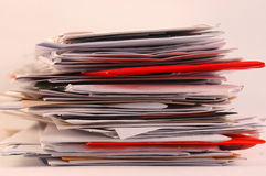 stres pocztowy Obrazy Stock