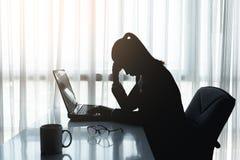 Stres w biurze obrazy stock