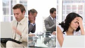 Stres w biznesie zbiory wideo