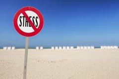 Stres wolna strefa Fotografia Stock