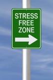 Stres wolna strefa Obrazy Stock