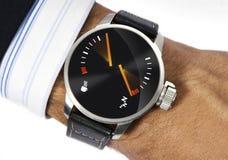 stres zegarek Zdjęcia Royalty Free