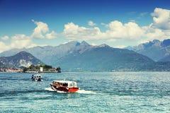 STRESA, ITALIE - 11 mai 2018 - scène Stresa, station de vacances célèbre d'été sur le rivage occidental du lac Maggiore Photographie stock libre de droits