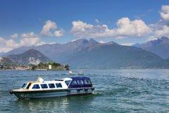 STRESA, ITALIE - 11 mai 2018 - scène Stresa, station de vacances célèbre d'été sur le rivage occidental du lac Maggiore Photo stock